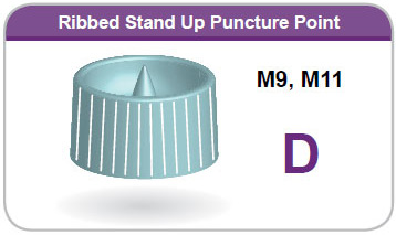 Ribbed Stand Up Puncture Point D
