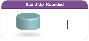 Stand Up Rounded I