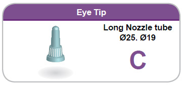 Eye Tip Long Nozzle tube C