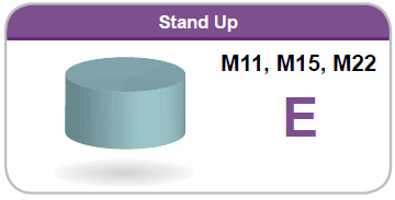 Stand Up M11, M15, M22