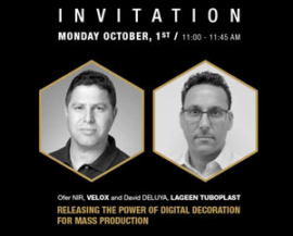 Join our lecture at LuxePack Monaco October 1, 11am- releasing the power of end-to-end digital decoration