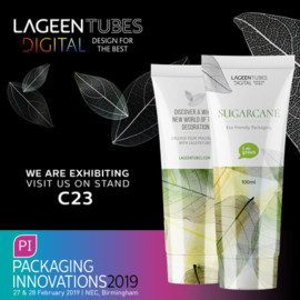 Visit us at Packaging Innovations Birmingham 2019 stand C23
