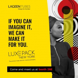 LUXE PACK NEW YORK on October 27 and 28, 2021 at JAVIT'S CENTER- booth F15